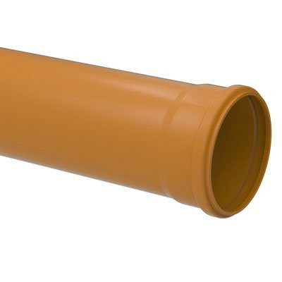 DRAIN AND SEWER PIPE WITH SMOOTH SURFACE AND GASKET JOINTS