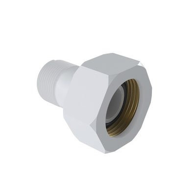 End with Thread and Brass Bushing for Hydrometer in PVC
