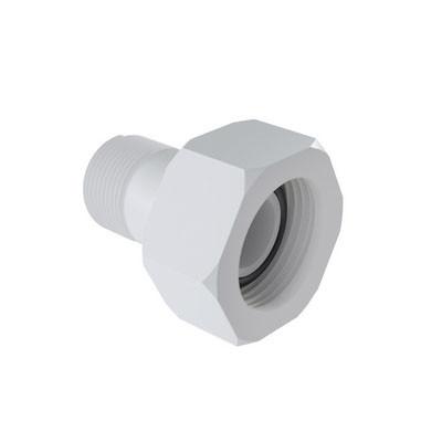 Extremidad Roscable para Hidrómetro en PVC