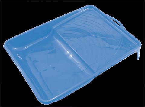 Bandeja Plástica Azul para Pintura