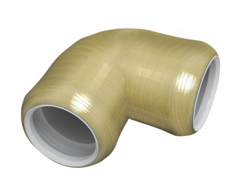 Elbow 90 ° Foot Column R Series - Glass Fiber Reinforced