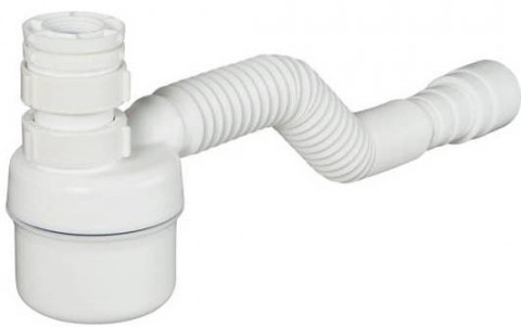 Siphon Adjustable Multipurpose White Cup