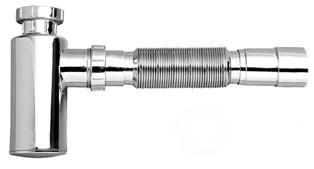 Sifón Ajustable para Lavabo Vaso Metalizado