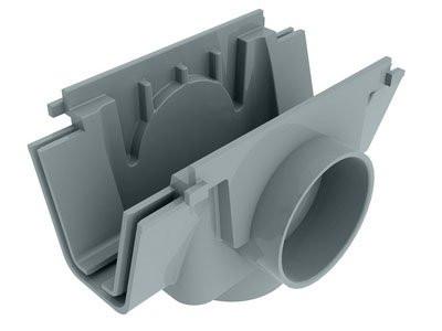 Gray Linear Drain Socket