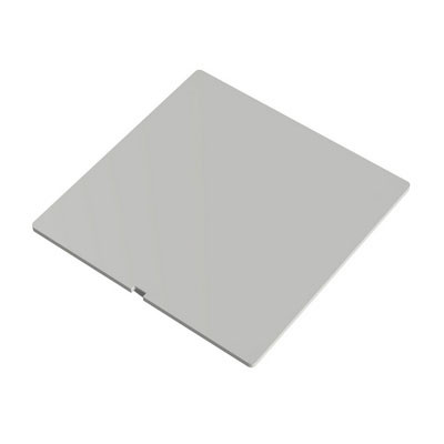 White Square Blind Cover