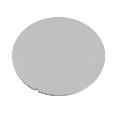 White Circular Blind Cover