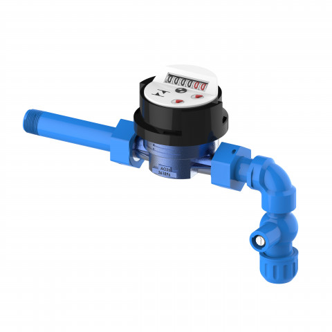 Measurement Unit and connection Compact Water