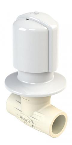 Registro de Ducha Aquatherm® Blanco