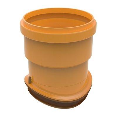 Compact Sewage Collector Saddle Corrugated