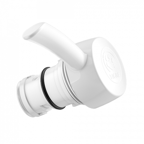 Faucet repair with white filter