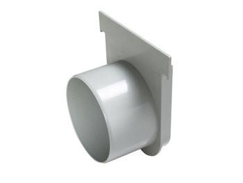 Cabecera p/ Canalón de Piso Reforzado DN 130 x 148 c/ Salida Opcional