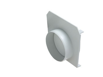 Head for Normal Floor Gutter DN 130 with Optional Outlet