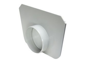 Head for Normal Floor Gutter DN 200 with Optional Outlet