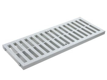 Grid for Floor Gutter DN 200 0.5m – V Color: Gray