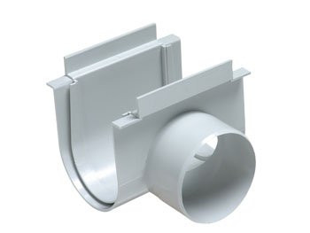 Opening for Normal Floor Gutter DN 130 with Side Outlet