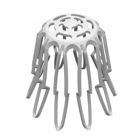 Basket strainer for roof drains