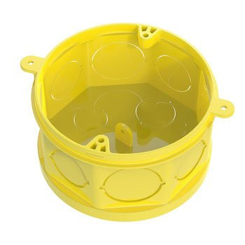 Tigreflex Octagonal Box with Movable Bottom - Yellow