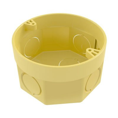 """Caja 3"""" x 3"""" con Anillo Deslizante Tigreflex – Amarilla"""