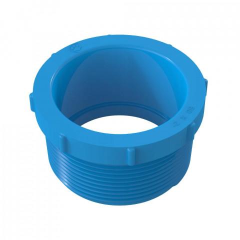Adaptador bs x RM corto irrigación LF