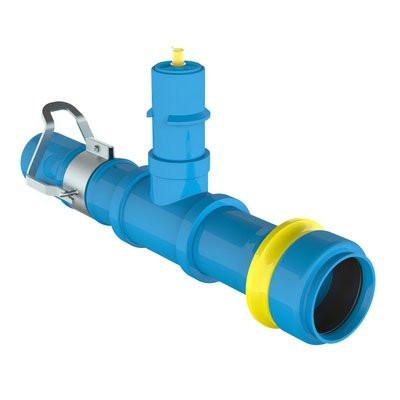 Válvula de línea PVC x ESH LAT.