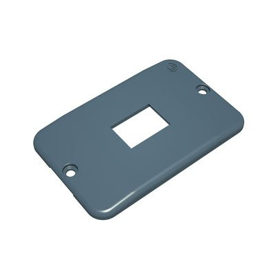 Top Conduit®  RJ11/45 1 Module Cover