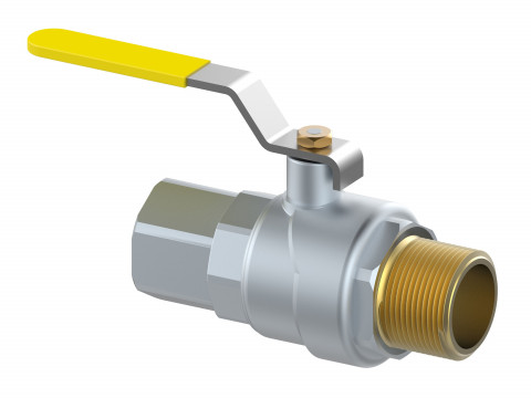Alpex Gas Ball Valve Male / Female