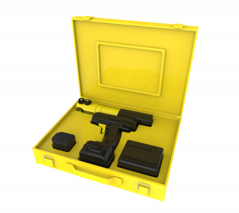 Pulsando Minialicate Alpex w / batería