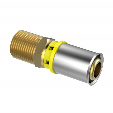 Fixed Gas Alpex Male Adapter