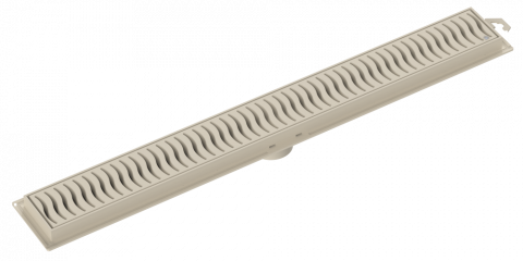 Ralo Linear Grelha Areia