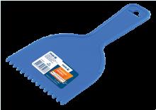 Espátula Plástica Dentada - Ref. 2161 - Massa: Textura para Efeitos - Efeito: Leque