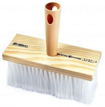 Escova - Ref. 1197 - Uso: Pintura Tinta Pó/Aplicação de Impermeabilizante - Composição: Filamento Sintético Branco Florado