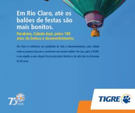 Tigre em Rio Claro: 40 Anos de Excelência