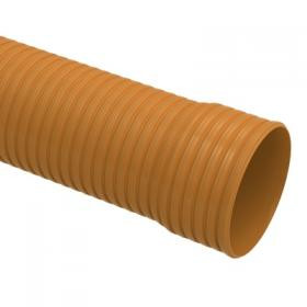 Tube corrugated collector