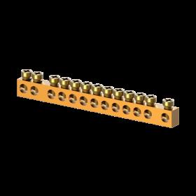 Barramento Neutro/Terra para Quadro Slim 12 Disjuntores