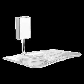 Saboneteira com Base em Resina para Banheiro