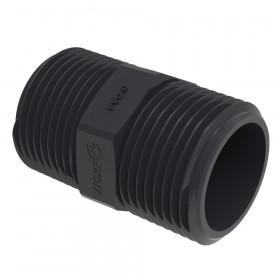 Niple PVC-U Sch80
