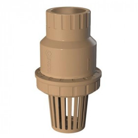 Foot valve strainer - suction valve