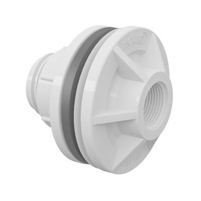 Adaptador Roscable y anillo para Caja de agua