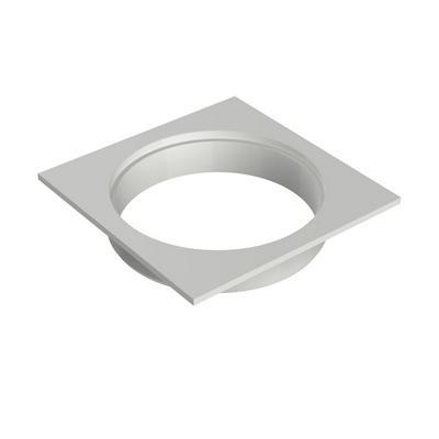 Porta-Rejilla Cuadrado para Rejilla Redonda