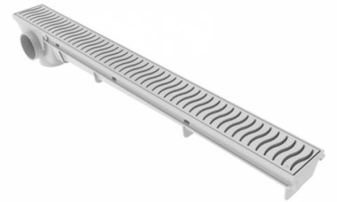 REJILLA LINEAL 50CM PVC