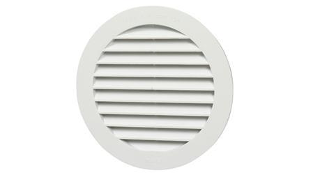 Rejilla de Ventilación Redonda Simple Encaje