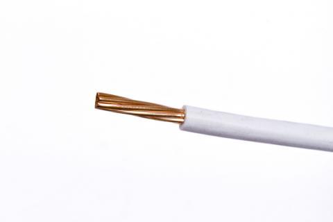 Cable Semi Flexible para Instalaciones Generales AWG - TW - Blanco
