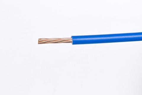 Cable Semi Flexible para Instalaciones Generales AWG - TW - Azul