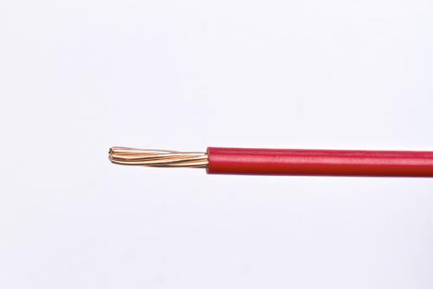 Cable Semi Flexible para Instalaciones Generales AWG - TW - Rojo