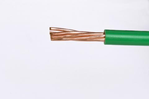 Cable Semi Flexible para Instalaciones Generales AWG - TW - Verde
