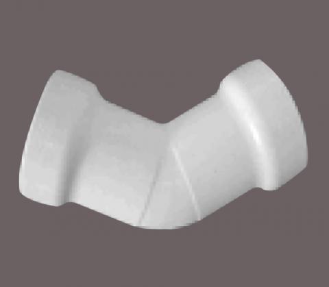 Codo 45° PVC Alcantarilla ASTM 3034 AG