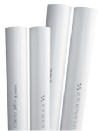 Tubos y conexiones para agua fría