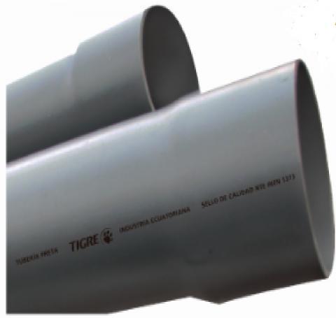 TUBO PRETA PVC E/C
