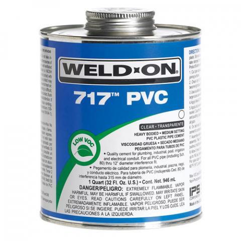 PEGA PVC 717 WELD-ON IPS