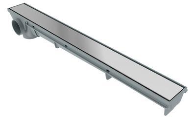 Ralo Lineal 50cm - Rejilla Inox